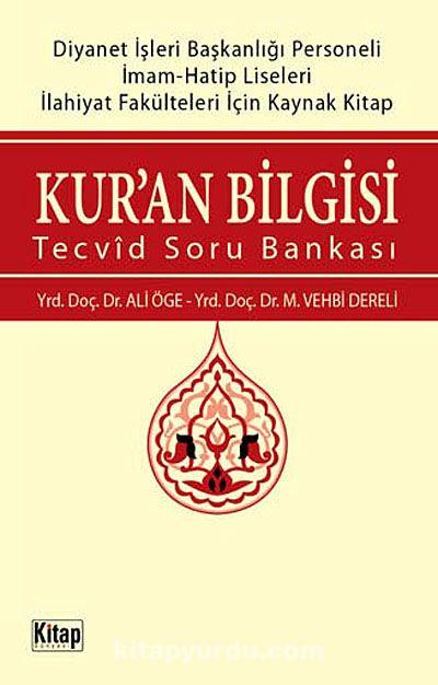 Kur'an BilgisiTecvid Soru Bankası - Dr. Ali Öge pdf epub