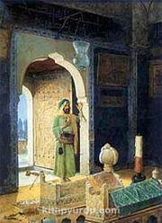 Şehzade Türbesinde / Osman Hamdi Bey (OHB 003-50x65) (Çerçevesiz)