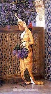 Leylak Toplayan Kız / Osman Hamdi Bey (OHB 009-30x55) (Çerçevesiz)