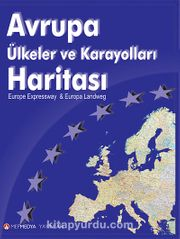 Avrupa ülkeler Ve Karayolları Haritası Kitapyurducom