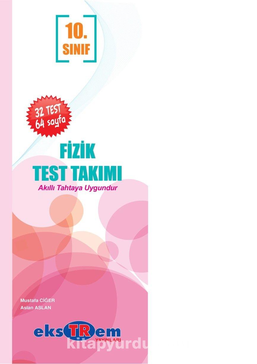 10. Sınıf Fizik Test Takımı