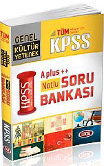 2013 KPSS A++ Genel Yetenek-Genel Kültür Soru Bankası - Komisyon pdf epub
