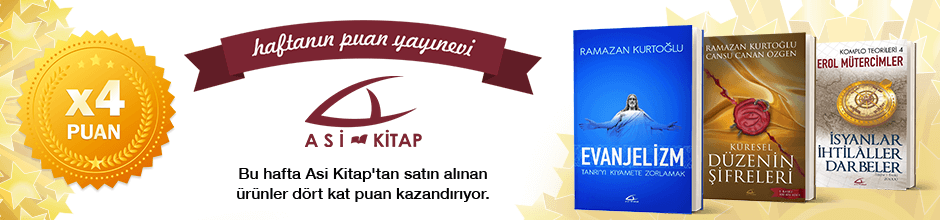 Asikitap'tan alınan ürünün puanının 4 katı ekstradan hesabınıza yüklenecektir.