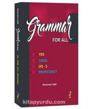 Grammar for All YDS - Tıp Dil - LYS 5 Proficiency