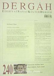 Dergah Edebiyat Sanat Kültür Dergisi Sayı:240 Şubat 2010