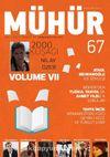 Mühür İki Aylık Şiir ve Edebiyat Dergisi Yıl:9 Sayı:67 Kasım-Aralık 2016
