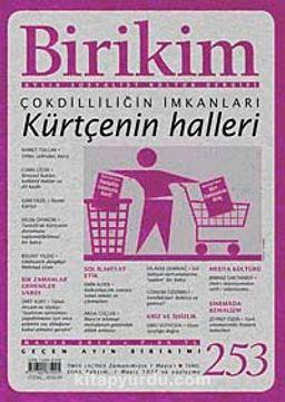 Birikim / Sayı:253  Yıl: 2010 / Aylık Sosyalist Kültür Dergisi