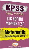 2017 KPSS Genel Yetenek Matematik Çek Kopart Yaprak Test