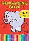 Rengarenk Boya -2 / 3-4 Yaş Kırmızı Kitap