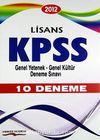 2012 Lisans KPSS Genel Yetenek-Genel Kültür Deneme Sınavı 10 Deneme