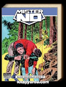 Mister No Klasik Maceralar Dizisi Cilt 37