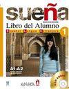 Suena 1 A1-A2 Libro del Alumno +2 CD (İspanyolca Temel ve Orta-Alt Seviye Ders Kitabı +CD)