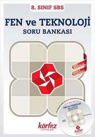 8. Sınıf SBS Fen ve Teknoloji Soru Bankası (Çözüm Dvd'li)