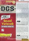 2017 DGS Sözel Yetenek Çek Kopart Yaprak Test