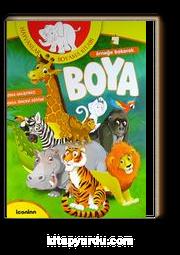 Hayvanlar Boyama Kitabı örneğe Bakarak Boya Zeka Geliştirici Okul