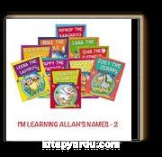 I'm Learning Allah's Names -II (10 Kitap)