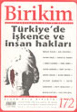 Birikim Aylık Sosyalist Kültür Dergisi, Ağustos 2003 Sayı:172