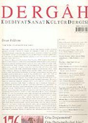 Dergah Edebiyat Sanat Kültür Dergisi / Ekim, Sayı 176, Cilt XV