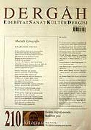 Ağustos 2007, Sayı 210, Cilt XVIII / Dergah Edebiyat Sanat Kültür Dergisi