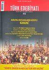 Sayı: 415 / Mayıs 2008 / Türk Edebiyatı / Aylık Fikir ve Sanat Dergisi