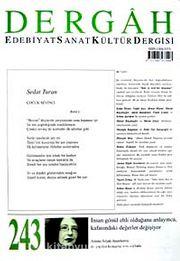 Dergah Edebiyat Sanat Kültür Dergisi Sayı:243 Mayıs 2010