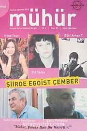 Mühür İki Aylık Şiir ve Edebiyat Dergisi Yıl:6 Sayı:30 Haziran-Ağustos 2010