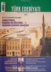 Sayı:443 Eylül 2010Türk Edebiyatı / Aylık Fikir ve Sanat Dergisi