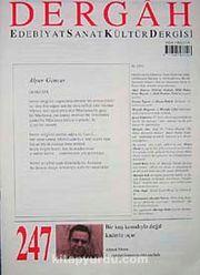 Dergah Edebiyat Sanat Kültür Dergisi Sayı:247 Eylül 2010
