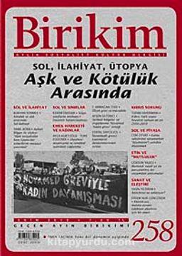 Birikim / Sayı:258  Yıl: 2010 / Aylık Sosyalist Kültür Dergisi