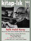 Kitap-lık Sayı:144 Refik Halid Karay