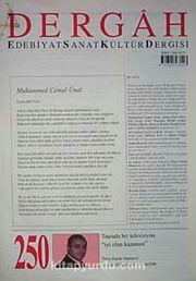 Dergah Edebiyat Sanat Kültür Dergisi Sayı:250 Aralık 2010