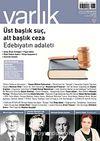 Varlık Aylık Edebiyat ve Kültür Dergisi Ocak 2011