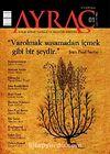 Ayraç Aylık Kitap Tahlili ve Eleştiri Dergisi Sayı:1 Yıl: Ağustos 2009