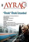 Ayraç Aylık Kitap Tahlili ve Eleştiri Dergisi Sayı:13 Yıl: Kasım 2010
