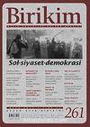 Birikim / Sayı:261  Yıl: 2011 / Aylık Sosyalist Kültür Dergisi