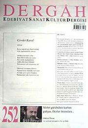 Dergah Edebiyat Sanat Kültür Dergisi Sayı:252 Şubat 2011