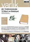 Varlık Aylık Edebiyat ve Kültür Dergisi Mart 2011