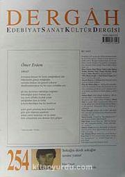 Dergah Edebiyat Sanat Kültür Dergisi Sayı:254 Nisan 2011