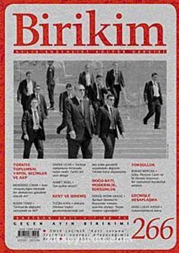 Birikim / Sayı:266  Yıl: 2011 / Aylık Sosyalist Kültür Dergisi