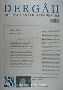 Dergah Edebiyat Sanat Kültür Dergisi Sayı:258 Ağustos 2011