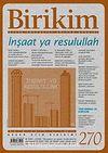 Birikim / Sayı:270 Yıl: 2011 / Aylık Sosyalist Kültür Dergisi