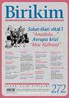 Birikim / Sayı:272 Yıl: 2011 / Aylık Sosyalist Kültür Dergisi
