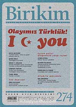 Birikim / Sayı:274 Yıl: 2012 / Aylık Sosyalist Kültür Dergisi