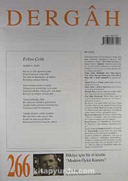 Dergah Edebiyat Sanat Kültür Dergisi Sayı:266 Nisan 2012