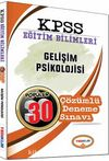 2017 KPSS Eğitim Bilimleri Gelişim Psikolojisi Popüler 30 Çözümlü Deneme Sınavı