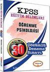 2017 KPSS Eğitim Bilimleri Öğrenme Psikolojisi Popüler 30 Çözümlü Deneme Sınavı