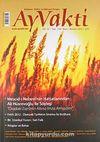Ayvakti Aylık Düşünce-Kültür ve Edebiyat Dergisi Sayı:138 Mayıs-Haziran 2012