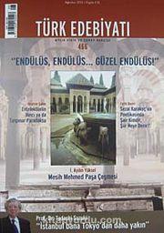 Türk Edebiyatı / Aylık Fikir ve Sanat Dergisi Sayı:466 Ağustos 2012