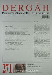 Dergah Edebiyat Sanat Kültür Dergisi Sayı:271 Eylül 2012