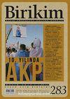 Birikim / Sayı:283 Yıl: 2012 / Aylık Sosyalist Kültür Dergisi